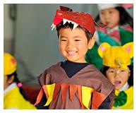 幼稚園ビデオ撮影